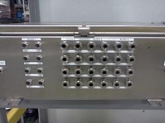 Stainless Steel Connectors for I/O Panel by Shingle and Gibb, winner of Remke Photo Contest