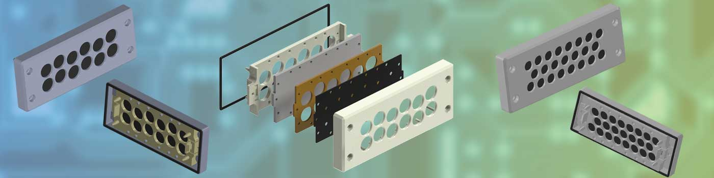 Remke Cable entry plate systems