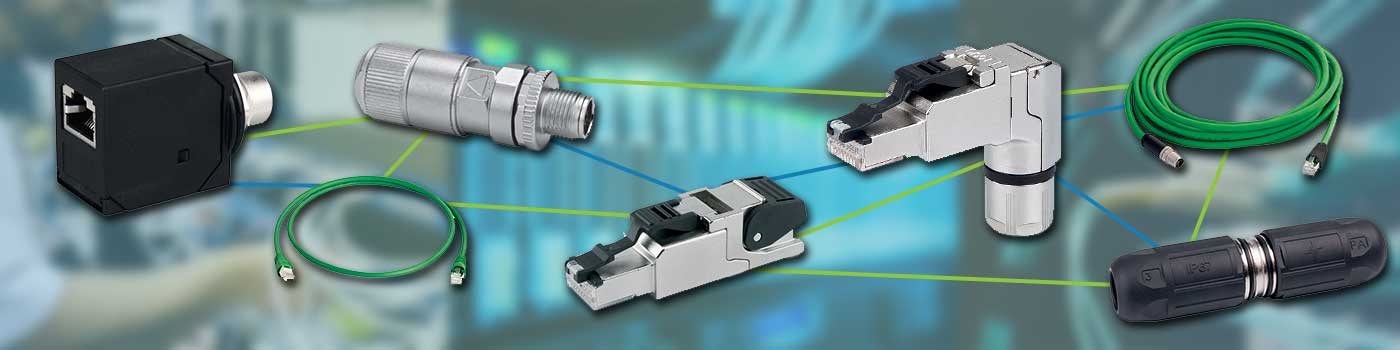 Remke carries a line of field addressable RJ45 Ethernet Connectors and Custom Ethernet Cable solutions.