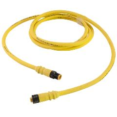 molded-connectors-micro-link-molded-connectors&cordsets-m12-single-key-rubber-cable-assemblies-male-female-non-braided-plugs