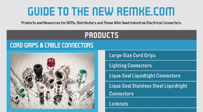 Infographic Guide to the new Remke Website